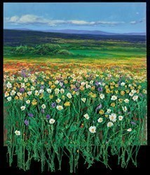 Campo en Primavera by Ramon Vila -  sized 24x28 inches. Available from Whitewall Galleries